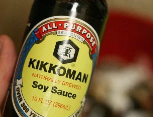La sauce de soja