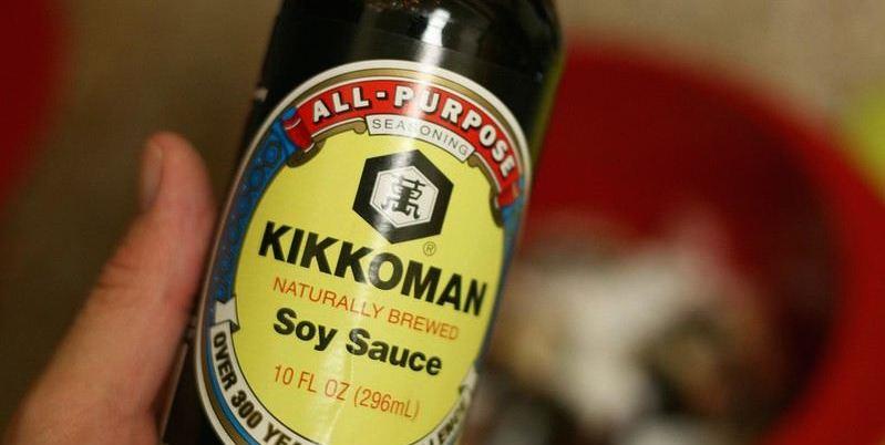 sauce de soja kikkoman