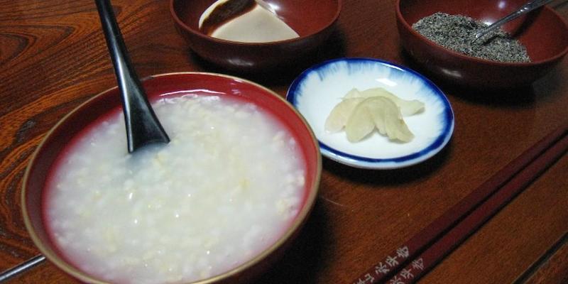 okayu, la soupe de riz