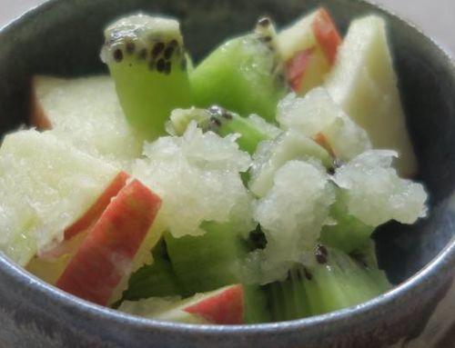 Salade de fruits au radis blanc