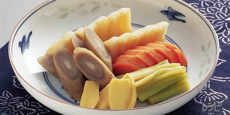 Légumes macérés au miso